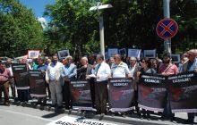 Adıyaman Emek ve Demokrasi Platformu'ndan Filistin'le Dayanışma Eylemi