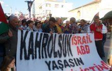 Bolu Emek ve Demokrasi Platformu İsrail'i Kınadı