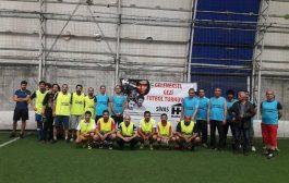 Sivas'ta Geleneksel Gezi Futbol Turnuvası Gerçekleştirildi