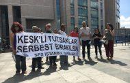 İstanbul Şubelerimiz KESK'li Tutsaklar ve Tutuklu Üyemiz Narin Duru İçin Gerçek Adalet İstedi