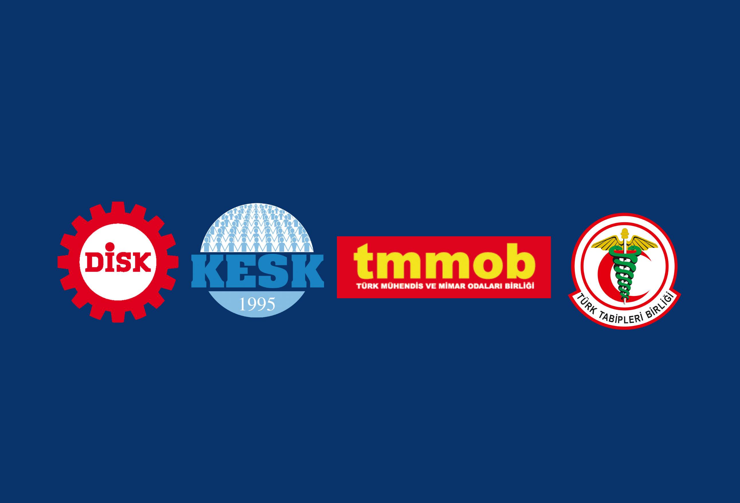 DİSK-KESK-TMMOB-TTB: Barış'ı, Özgürlüğü ve Eşitliği Bu Topraklarda Kökleşmiş Bir Ağaç Haline Getireceğimize Söz Veriyoruz!