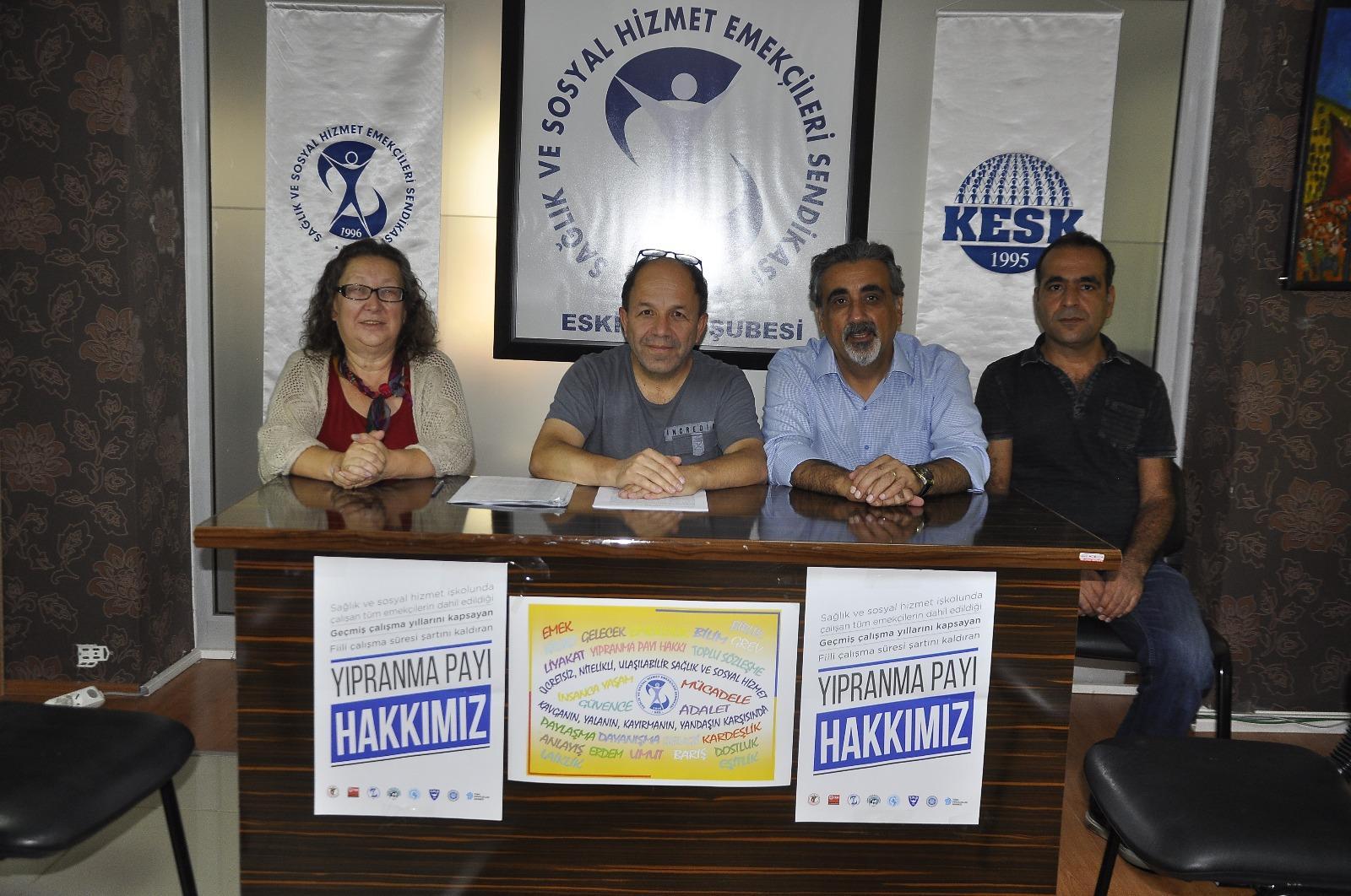 Eskişehir: Yıpranma Payı Hakkımız İçin Mücadeleye Devam Ediyoruz