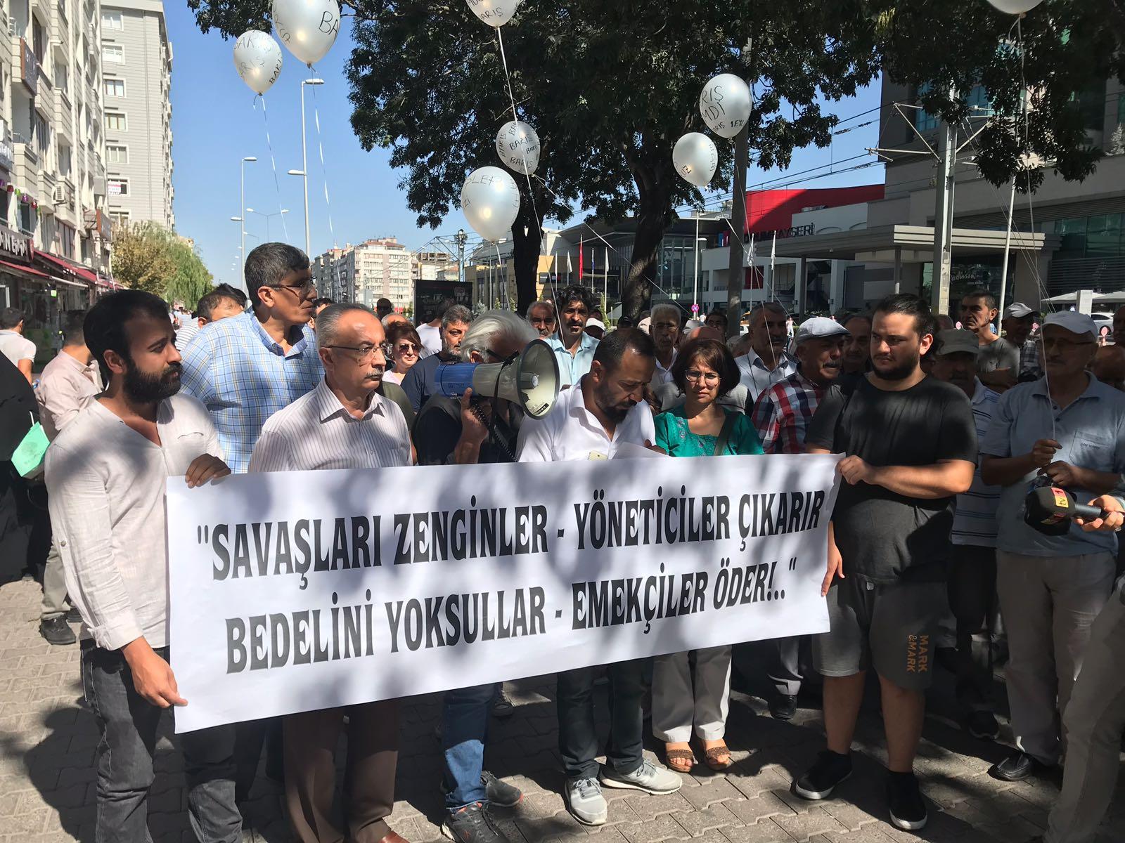 Kayseri Emek ve Demokrasi Güçlerinden 1 Eylül Açıklaması