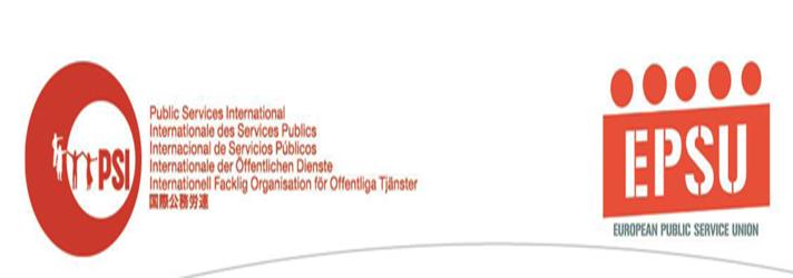 PSI ve EPSU Cizre'de Yaşam Hakkını ve Sağlık Hakkını Savunan Gönüllü Sağlık Çalışanlarını Destekliyor
