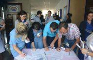 İzmir Şubemizden Yıpranma Payı İçin Hastanelerde İmza Kampanyası