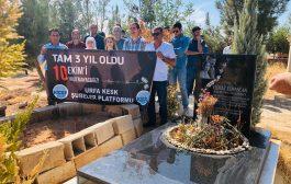10 Ekim Katliamında Hayatını Kaybeden Yılmaz Elmascan Suruç'ta Anıldı