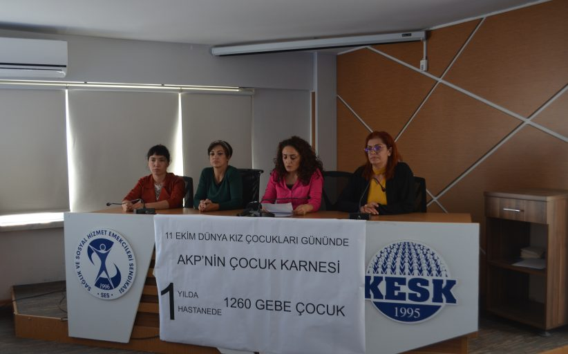 11 Ekim Dünya Kız Çocukları Günü'nde AKP'nin Çocuk Karnesi: Bir Yılda, Tek Bir Hastanede 1260 Gebe Çocuk!