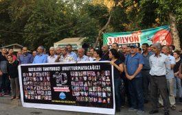 10 Ekim'de Hayatını Kaybedenler Adıyaman'da da Anıldı