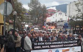 Bursa: 10 Ekim'i Unutmadık, Unutmayacağız!