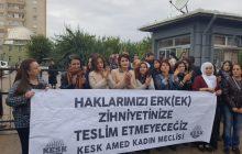Diyarbakır KESK Kadın Meclisi'nden Binali Yıldırım'a Tepki