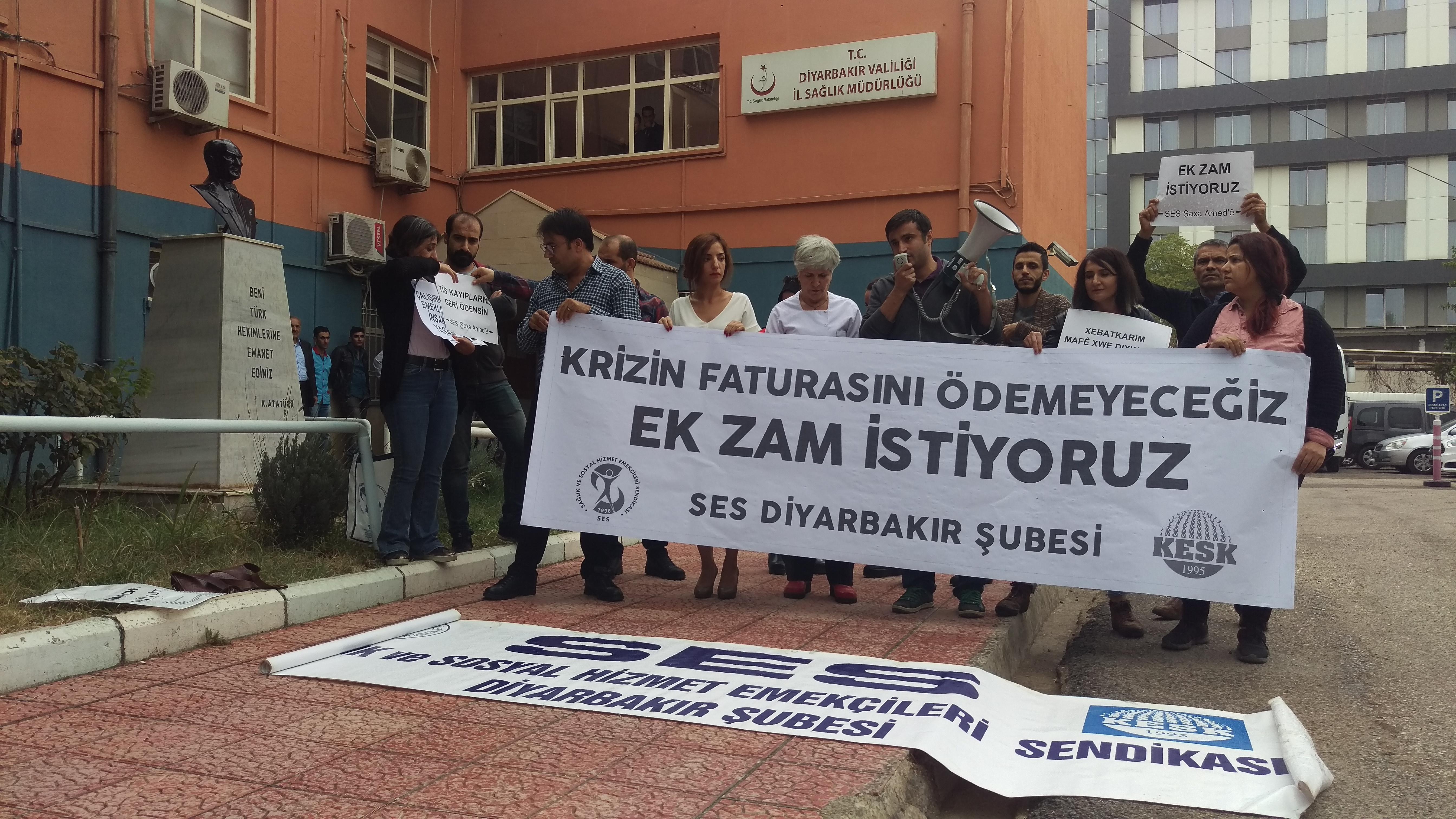 Diyarbakır: Bakanlığı ve Konfederasyonları Yeni Toplu Sözleşme İçin Göreve Çağırıyoruz!