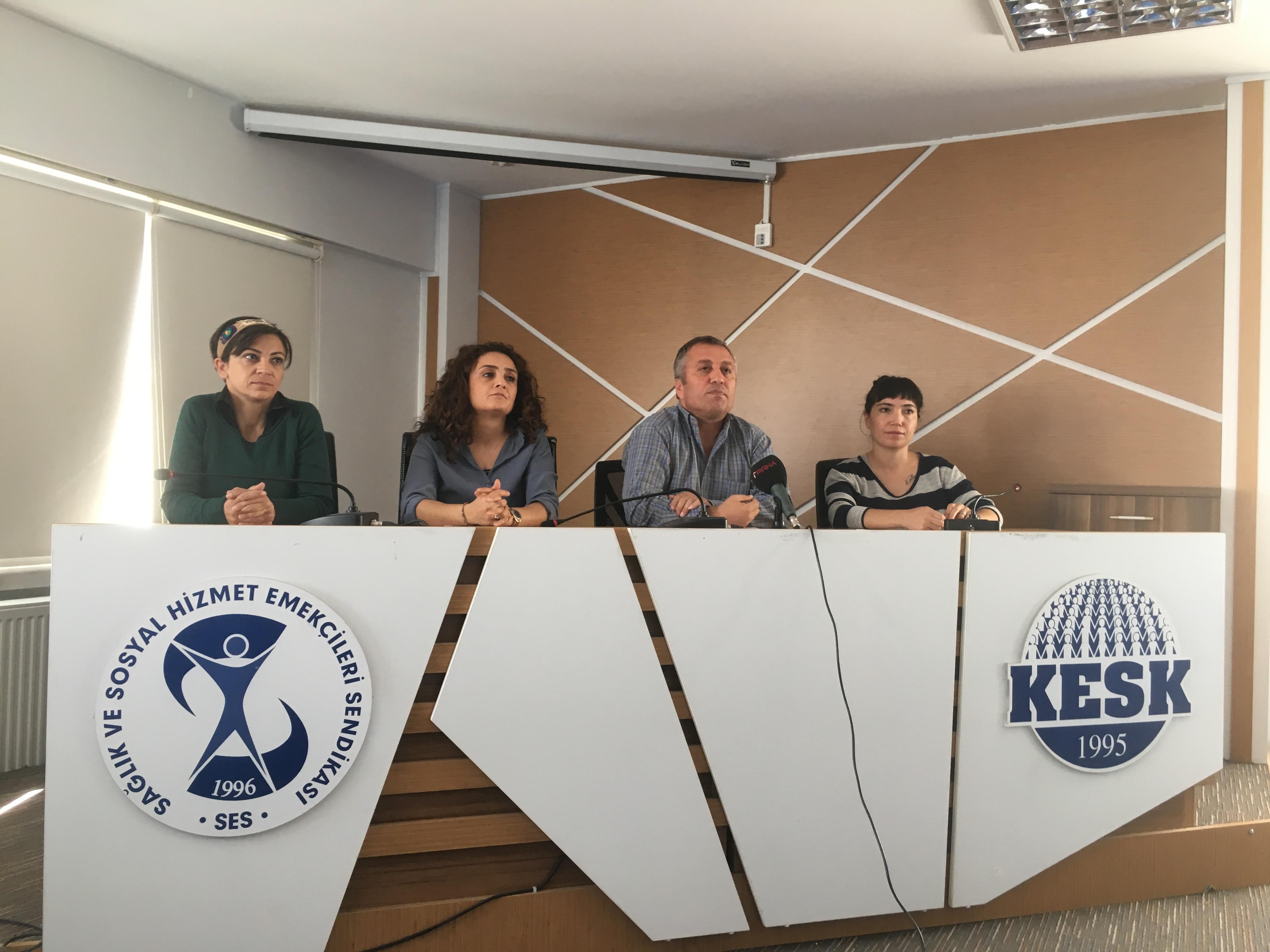 AKP, Şirketleri Kurtarmayı İnsan Hayatını Kurtarmaya Tercih Ediyor! Krizin Faturasının Sağlık ve Sosyal Hizmetler Alanına Ödetilmesini Kabul Etmiyoruz