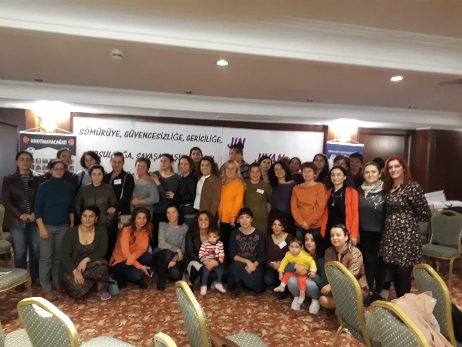 Merkez Kadın Meclisi Toplantımız Ankara'da Gerçekleşti