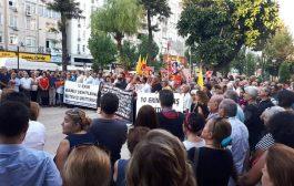 Mersin'de 10 Ekim Anması ve Sağlıkta Şiddete Karşı Nöbet