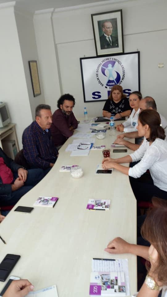 Samsun'da Örgütlenme Toplantısı
