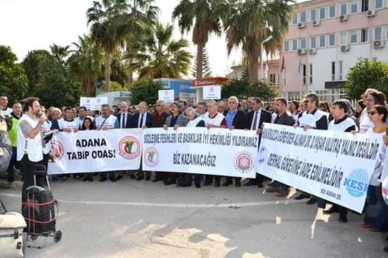 Adana: Dr. Yaşar Ulutaş Derhal Görevine İade Edilsin