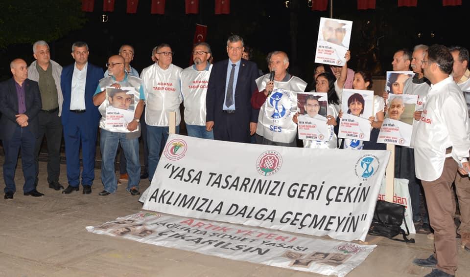 Adana: Yasa Tasarınızı Geri Çekin, Aklımızla Dalga Geçmeyin