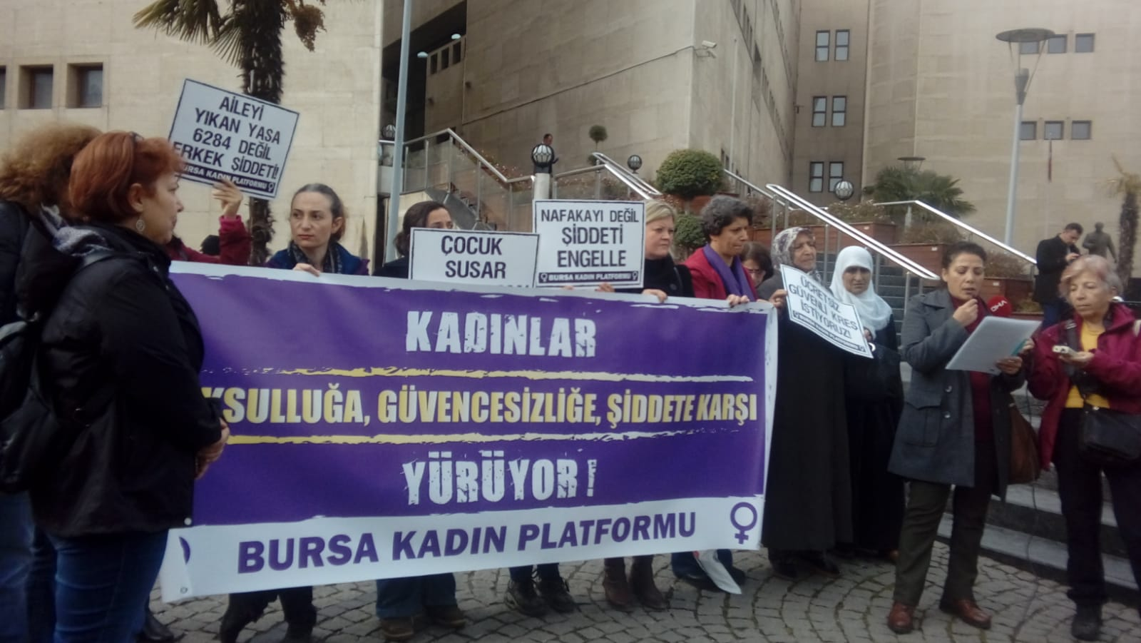 Bursa Kadın Platformu 25 Kasım'a Çağrı Yaptı