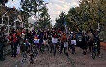 Diyarbakır'da Kadınlar Şiddete Karşı Pedal Çevirdi