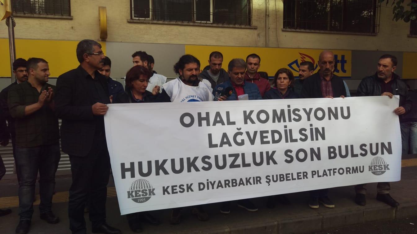 Diyarbakır: OHAL Komisyonu Lağvedilsin Hukuksuzluk Son Bulsun