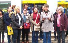 Malatya Demokratik Kadın Platformu KESK'li Kadın Tutsaklara Kart Gönderdi