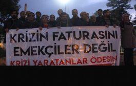 Mardin: Krizin Faturasını Emekçiler Değil, Krizi Yaratanlar Ödesin!