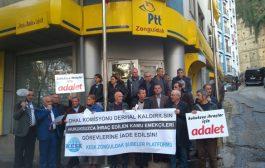 Zonguldak: OHAL Komisyonu Derhal Kaldırılsın, İhraç Kamu Emekçileri Görevlerine İade Edilsin