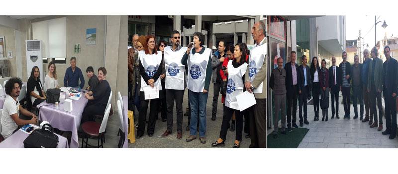 """""""Yoksullaşmaya, İşsizliğe, Güvencesizliğe Karşı"""" İzmir Bölge Mitingi İçin İllerde Çalışma Yaptık: Birlikte Güçlüyüz, Birlikte Başaracağız"""