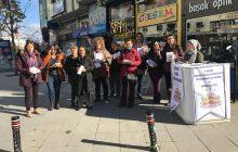Çorum'da Kadınlar 25 Kasım Etkinliklerinde Buluştu