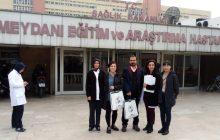 22 Aralık İstanbul KESK Bölge Mitingi Öncesinde Okmeydanı Eğitim ve Araştırma Hastanesi'nde Sağlık Emekçileriyle Buluştuk