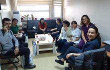 Şişli Etfal Hastanesi'nde 22 Aralık İstanbul KESK Bölge Mitingi Çalışması Yaptık