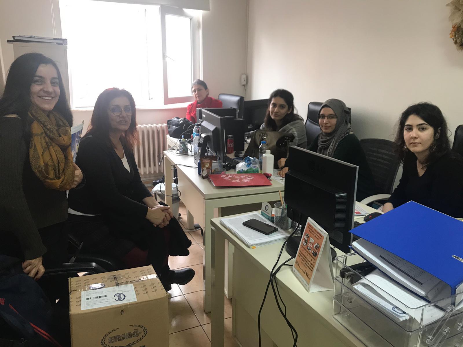 22 Aralık İstanbul KESK Bölge Mitingi Öncesinde Bahçelievler İlçe Sağlık Müdürlüğü'nde Sağlık Emekçileriyle Buluştuk
