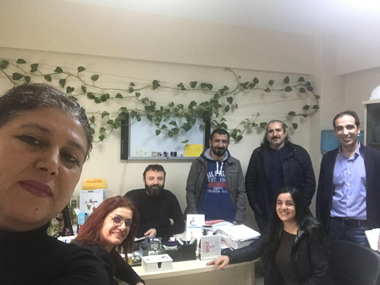 Bakırköy Ruh Sağlığı ve Sinir Hastalıkları Hastanesi'nde 22 Aralık İstanbul KESK Bölge Mitingi Çalışması Yaptık