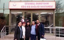 Okmeydanı Ağız Diş Sağlığı Hastanesi'nde 22 Aralık İstanbul KESK Bölge Mitingi Çalışması Yaptık