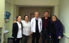 Lütfi Kırdar Eğitim ve Araştırma Hastanesi'nde 22 Aralık İstanbul KESK Bölge Mitingi Çalışması Yaptık