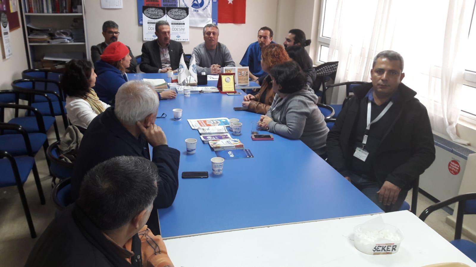 15 Aralık Adana Bölge Mitingi Öncesinde İş Yeri Ziyaretlerimiz Devam Ediyor