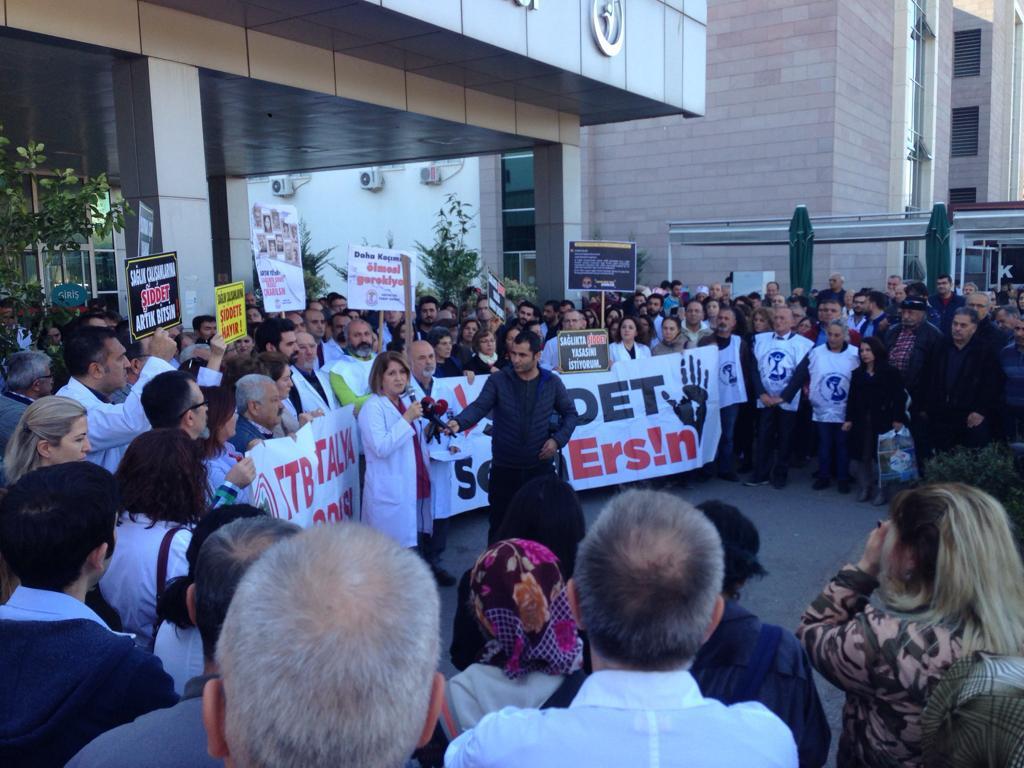 Antalya: Sağlıkta Şiddet Sona Ersin