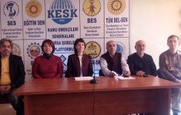 Bursa: KESK 23.Yılında Yoksullaşmaya, İşsizliğe, Güvencesizliğe Karşı Mücadelesini Kararlılıkla Sürdürüyor