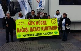 KESK Bursa Şubeler Platformu Kök Hücre Bağışı Kampanyası Başlattı
