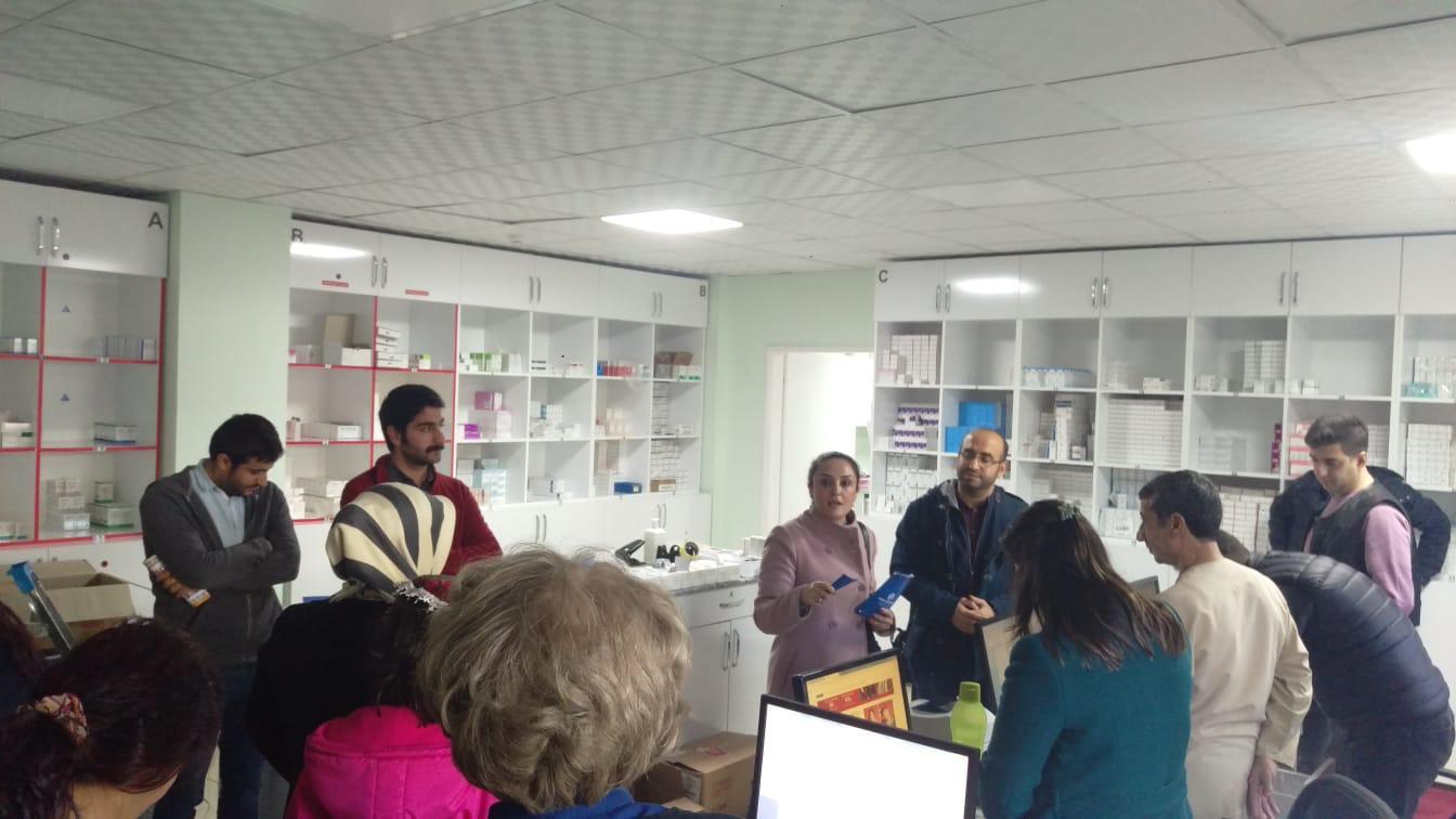 16 Aralık Diyarbakır Bölge Mitingi Öncesinde İş Yeri Ziyaretlerimiz Devam Ediyor