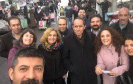 16 Aralık Diyarbakır Bölge Mitingi Çalışmaları Devam Ediyor