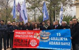 15 Aralık Adana Bölge Mitingi Çalışmaları Gaziantep'de Devam Ediyor