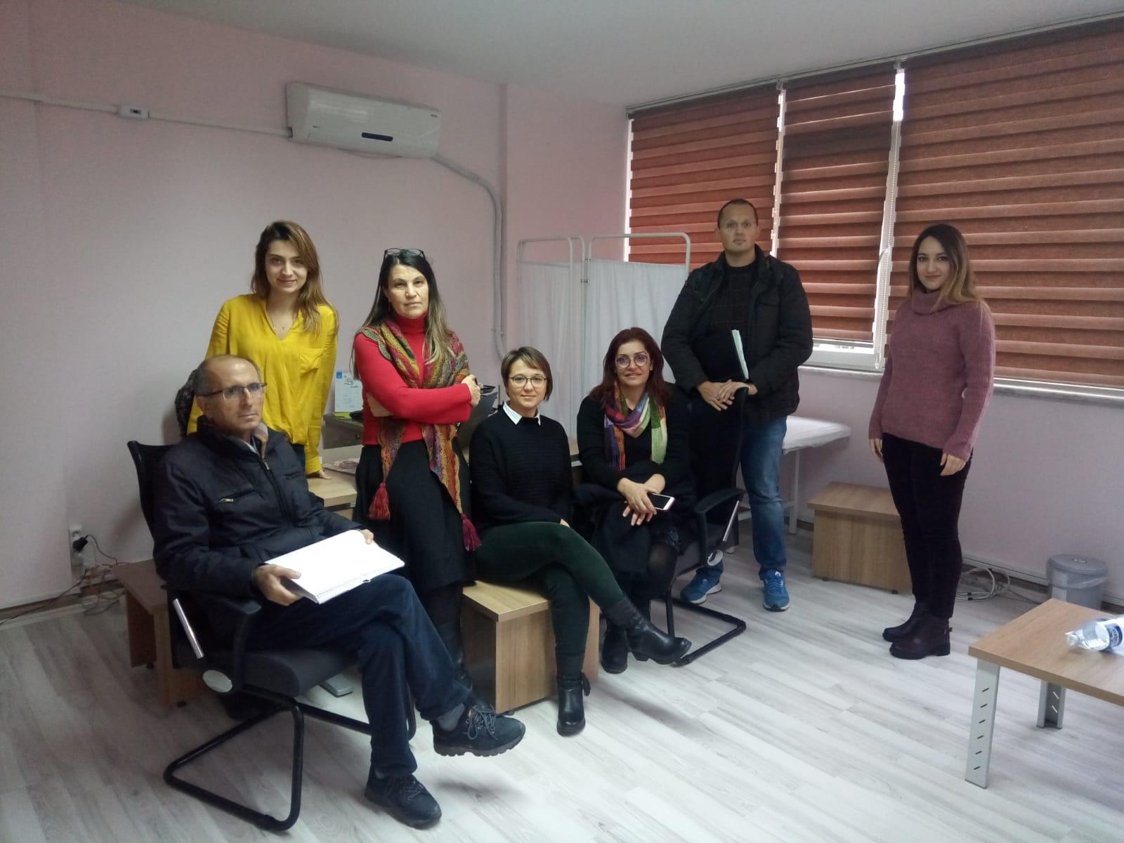 22 Aralık KESK İstanbul Bölge Mitingi Öncesinde Kırklareli'nde İş Yeri Ziyaretlerimiz Devam Ediyor