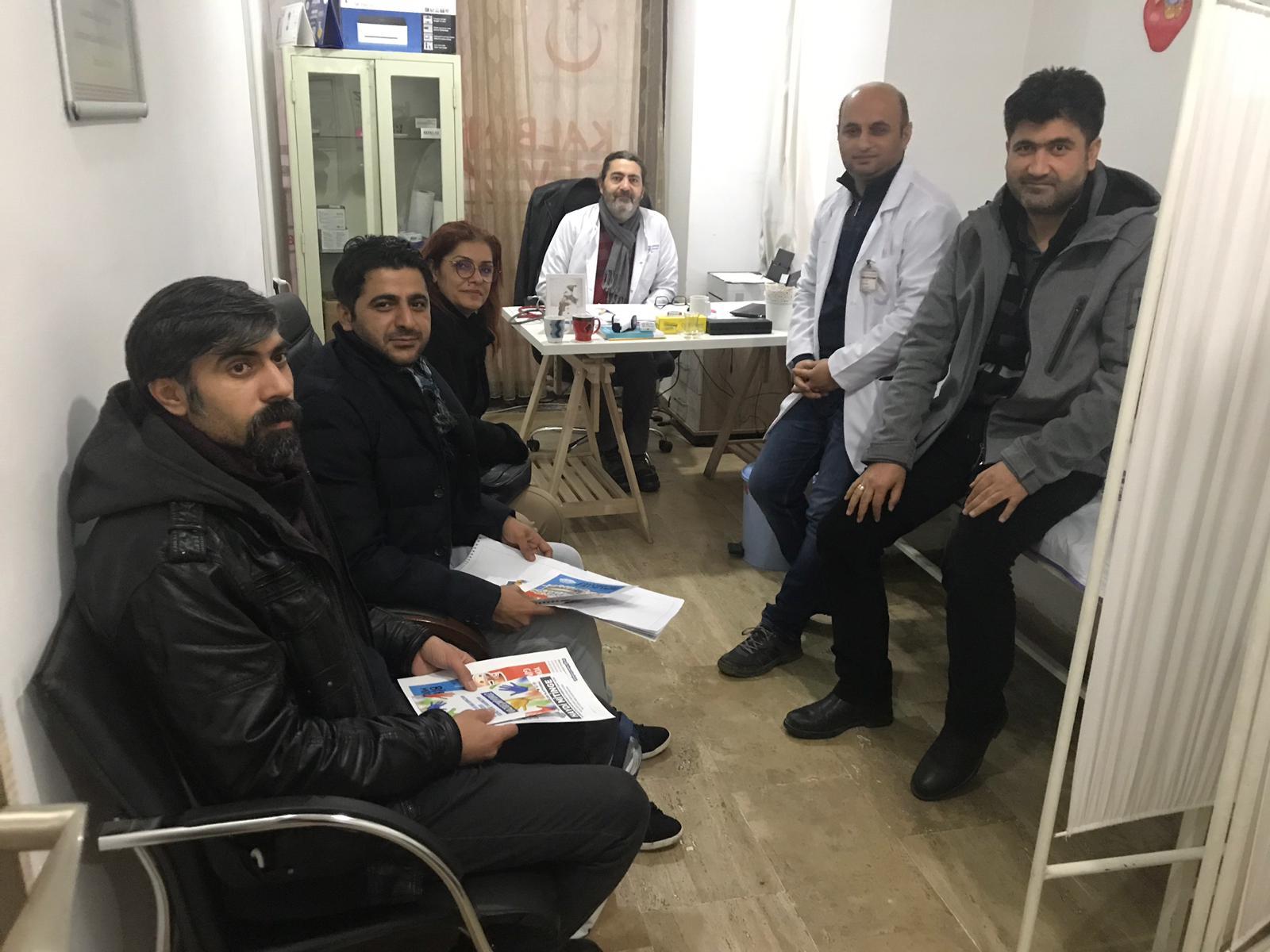 16 Aralık Diyarbakır Bölge Mitingi İçin Mardin'de Çalışmalar Devam Ediyor