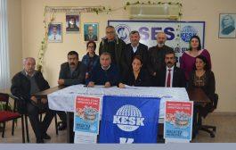 Mersin'de 15 Aralık Adana Mitingine Çağrı