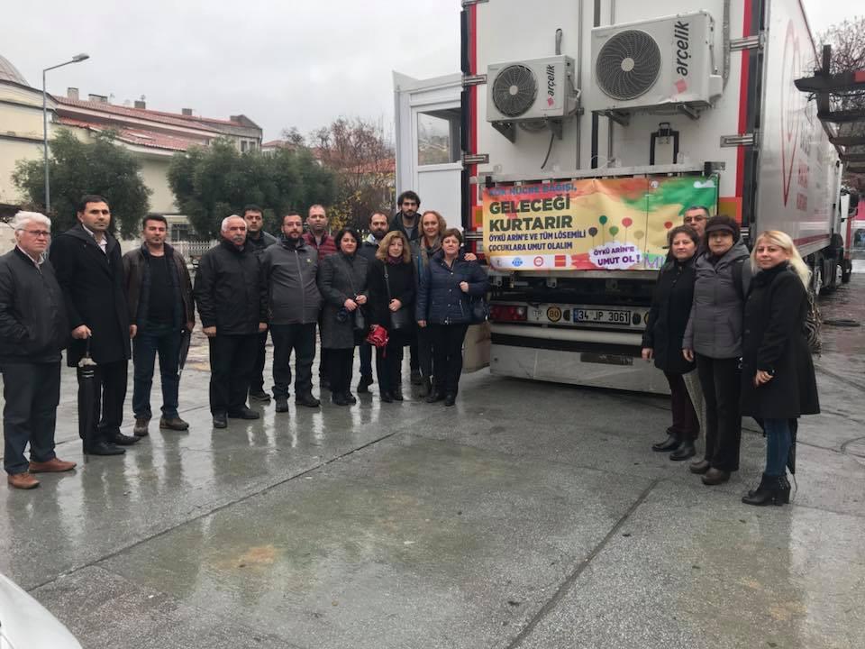 Muğla'da Kök Hücre Bağışı Kampanyasına Destek Verildi