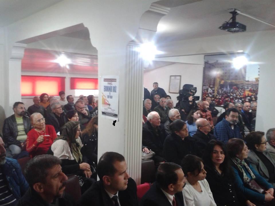 """Sivas Demokrasi Platformu """"Ekonomik Kriz ve Çıkış Yolları"""" Paneli Düzenledi"""