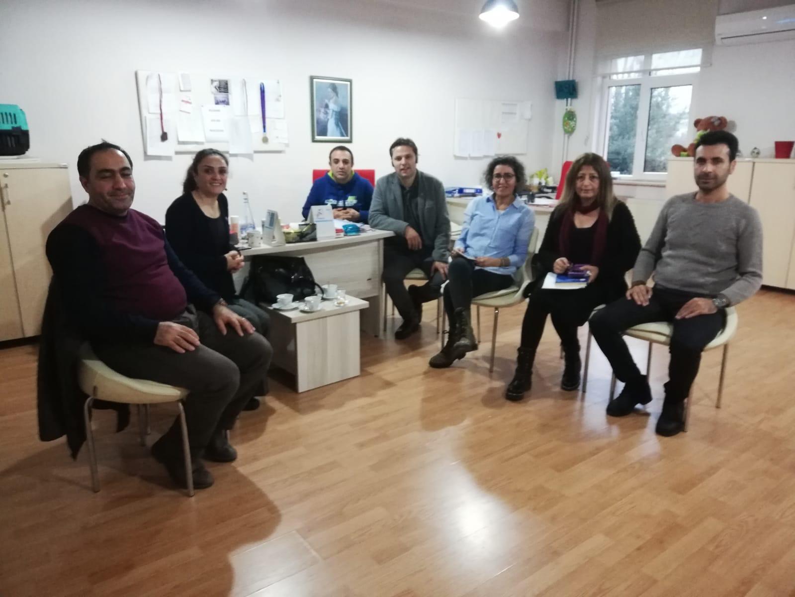 22 Aralık KESK İstanbul Bölge Mitingi İçin Yalova'da Çalışmalar Devam Ediyor