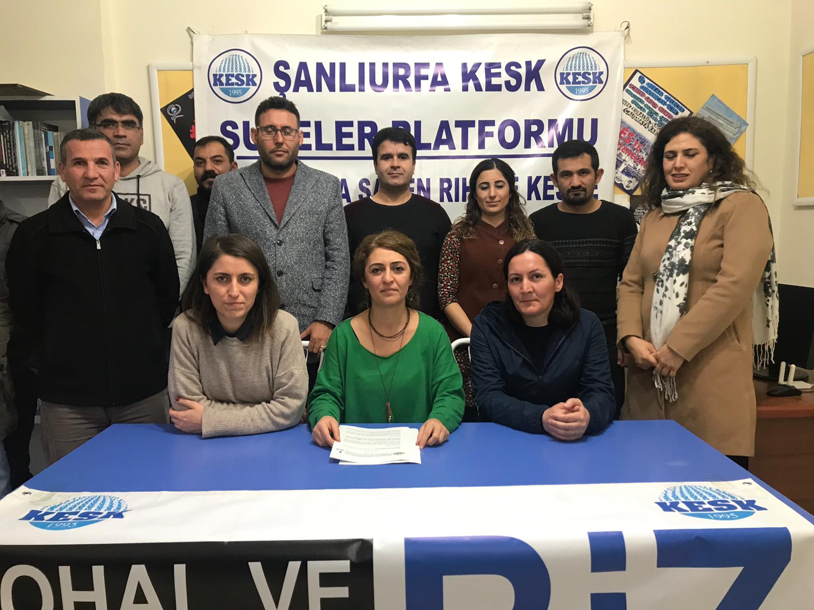 Ş.Urfa: OHAL Komisyonu Derhal Lağvedilsin