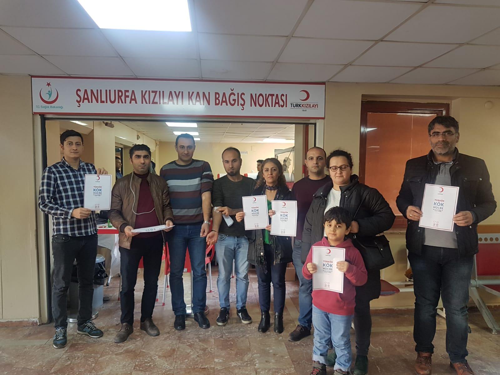 Şanlıurfa'da Kök Hücre Bağışı Kampanyası Düzenlendi